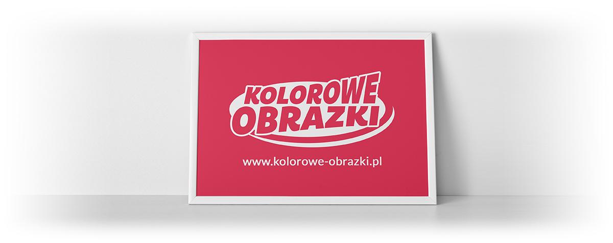 Redesign logo www.kolorowe-obrazki.pl